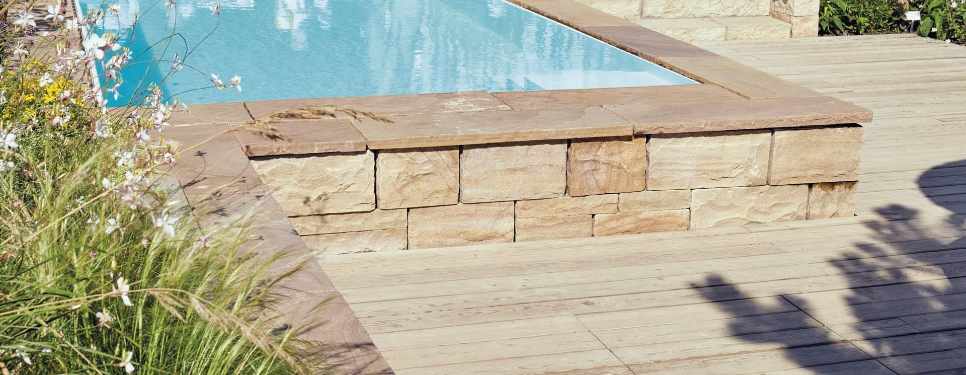 Pool-, Stufen-, Abdeckplatten